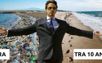 Robert Downey Jr. vuole ripulire la Terra in 10 anni e dimostra di essere un vero Tony Stark