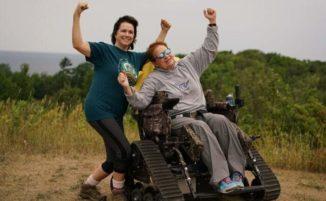 Questo parco nazionale offre carrozzine fuoristrada ai disabili che vogliono godersi la natura