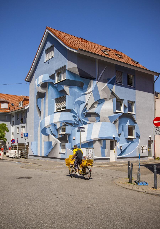 Street Art Illusioni Ottiche Peeta