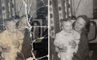 Restaurano vecchie foto danneggiate ed i risultati sono incredibili