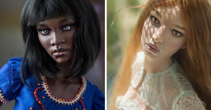 Bellissime bambole realistiche create da una coppia di artisti russi