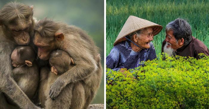 Fotografi da tutto il mondo catturano il significato della parola