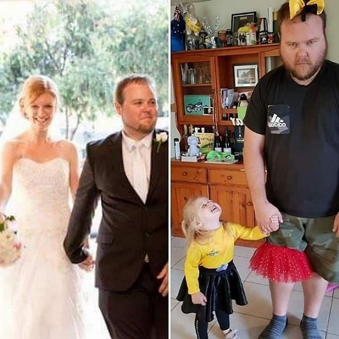 Foto Divertenti Prima E Dopo Avere Avuto Un Bambino