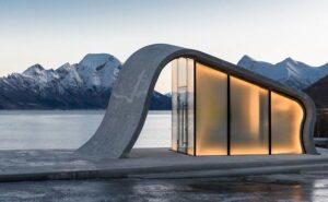 In Norvegia c'è il bagno pubblico più bello del mondo