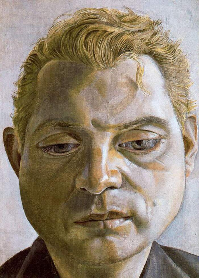 Famose opere d'arte rubate e mai ritrovate - Ritratto di Francis Bacon (1951), Lucian Freud, olio su tela