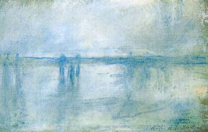 Famose opere d'arte rubate e mai ritrovate - Charing Cross Bridge, Londra (1899-1904), Claude Monet, olio su tela