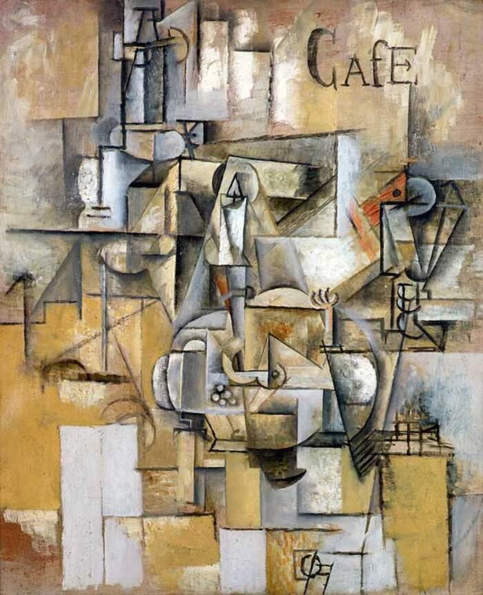 Famose opere d'arte rubate e mai ritrovate - Le Pigeon aux Petits Pois 81911), Pablo Picasso, olio su tela