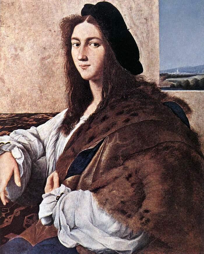 Famose opere d'arte rubate e mai ritrovate - Ritratto di giovane uomo (1516-1517), Raffaello, olio su tavola