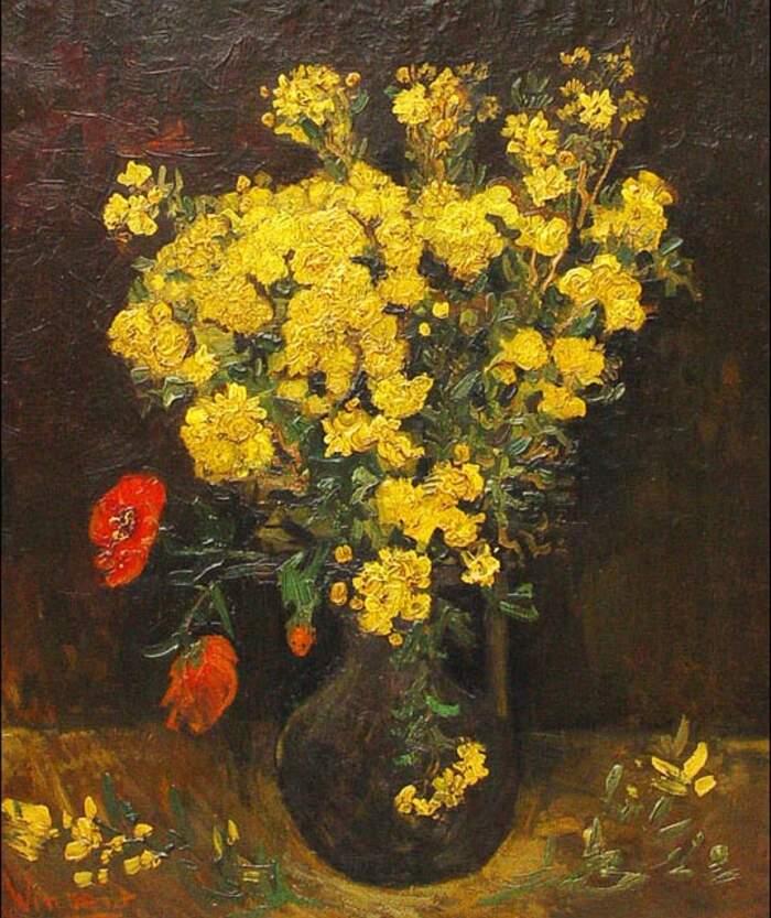 Famose opere d'arte rubate e mai ritrovate - I Papaveri (1887), Vincent Van Gogh, olio su tela