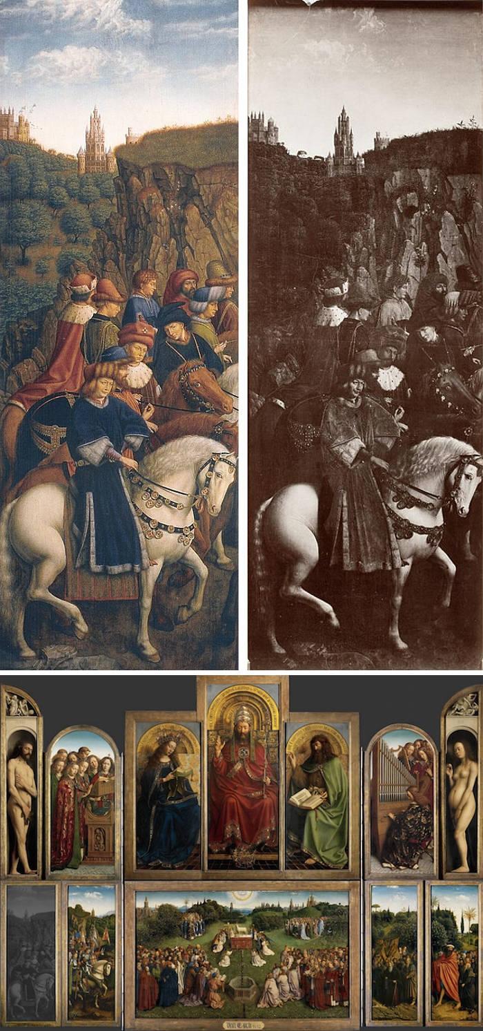 Famose opere d'arte rubate e mai ritrovate - The Just Judges (1432), Jan van Eyck, olio e tempera su legno
