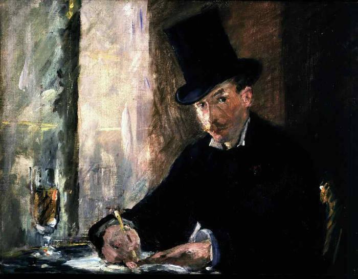 Famose opere d'arte rubate e mai ritrovate - Chez Tortoni (1879-1880), Édouard Manet, olio su tela