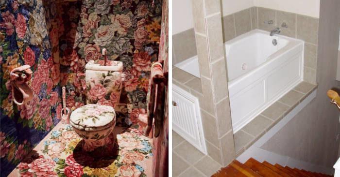 Agente immobiliare posta 25 foto dei design più terribili trovati nelle case