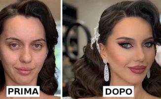 Prima e dopo il make up: 23 spose e la loro trasformazione
