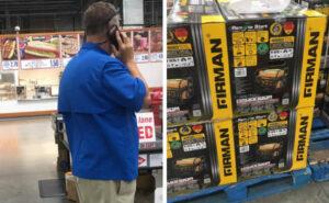 Entra in negozio spende 50.000 $ in generatori e cibo per le vittime dell'uragano nelle Bahamas