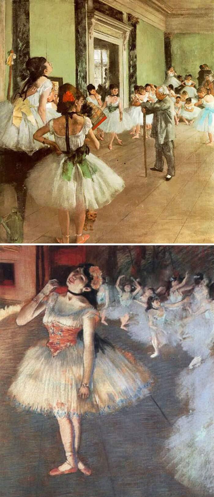 Come riconoscere artisti famosi dai loro quadri, Edgar Degas