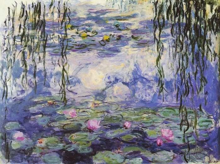 Come riconoscere artisti famosi dai loro quadri, Claude Monet