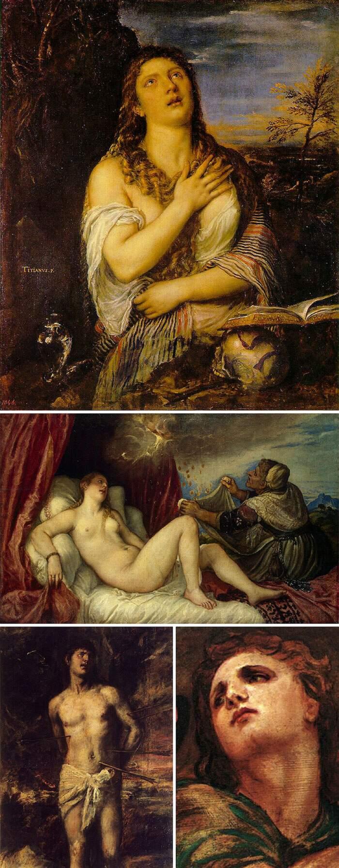Come riconoscere artisti famosi dai loro quadri, Tiziano Vecellio