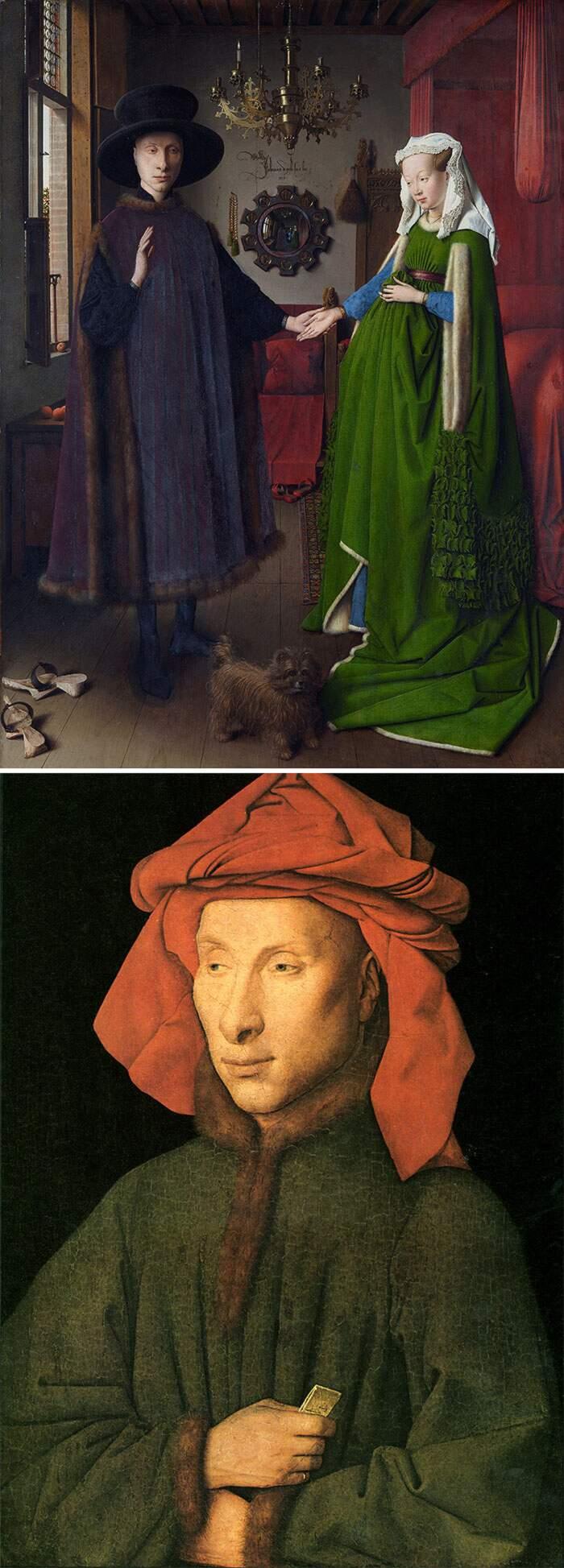 Come riconoscere artisti famosi dai loro quadri, Jan van Eyck