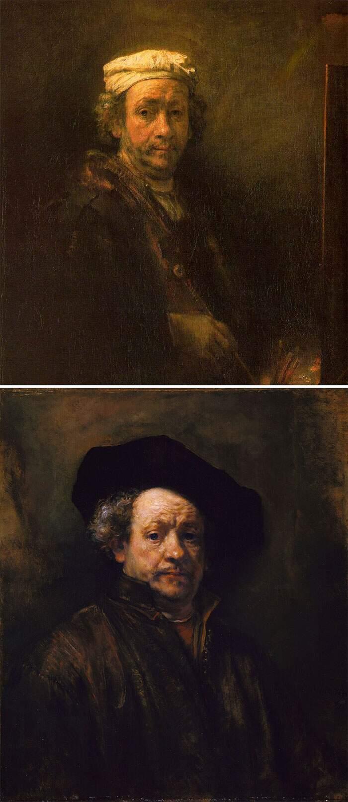 Come riconoscere artisti famosi dai loro quadri, Rembrandt Harmenszoon van Rijn