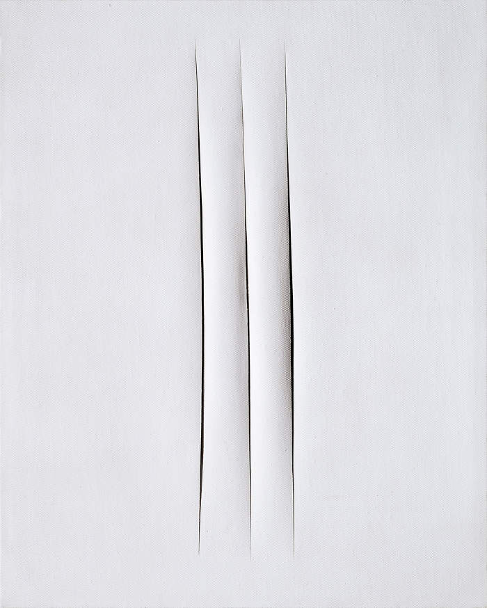 Come riconoscere artisti famosi dai loro quadri, Lucio Fontana