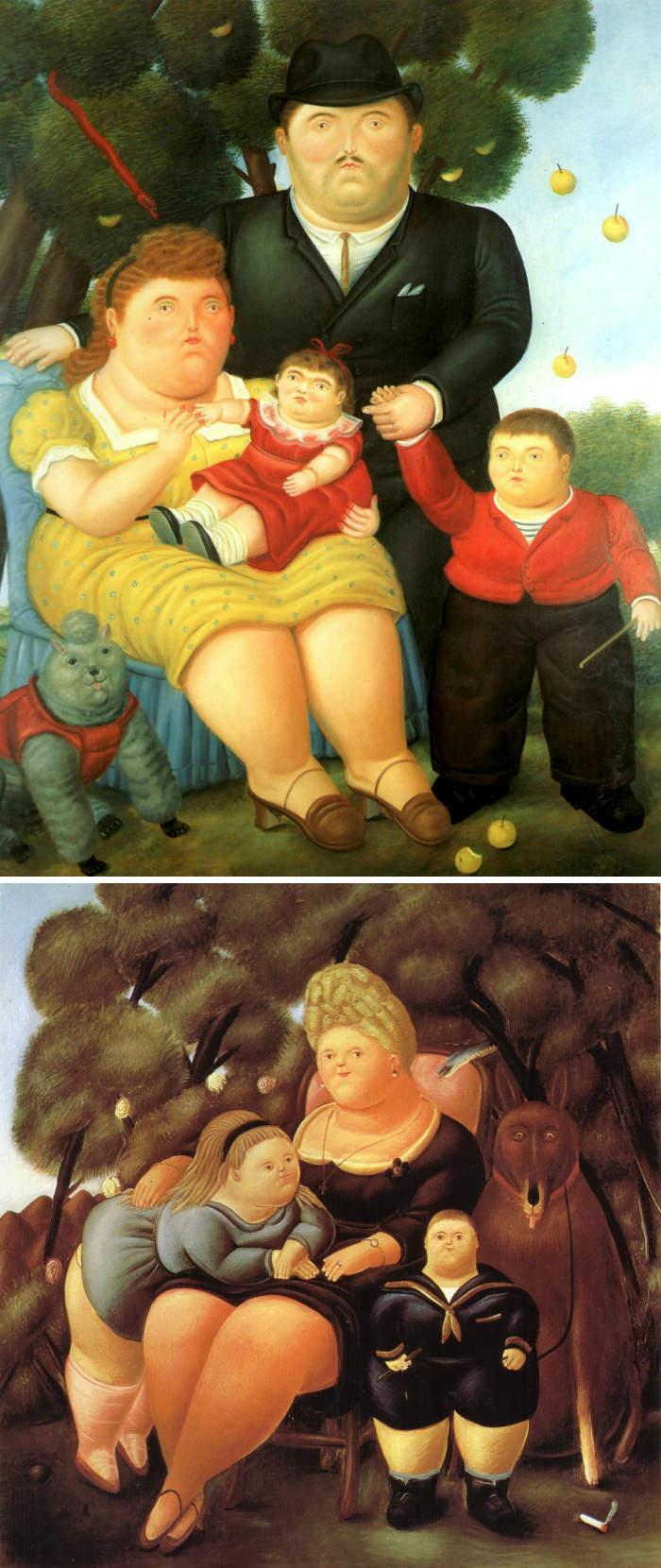 Come riconoscere artisti famosi dai loro quadri, Fernando Botero