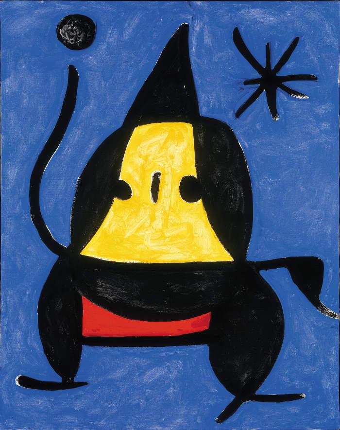 Come riconoscere artisti famosi dai loro quadri, Joan Mirò
