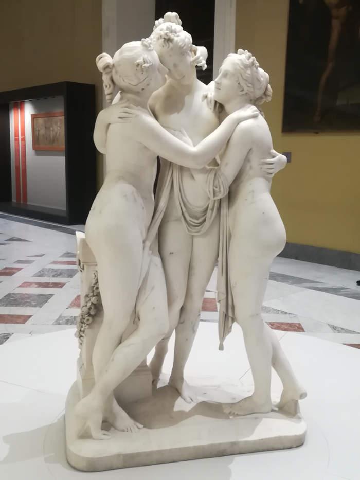 Come riconoscere scultori famosi dalle loro statue, Antonio Canova