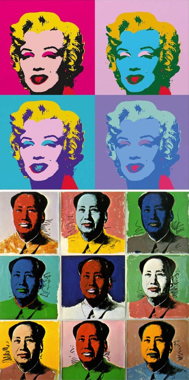 Come riconoscere artisti famosi dai loro quadri, Andy Warhol