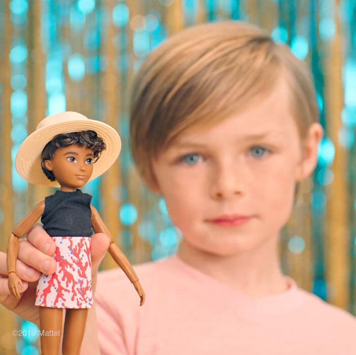 Bambole Mattel gender neutral Creatable World