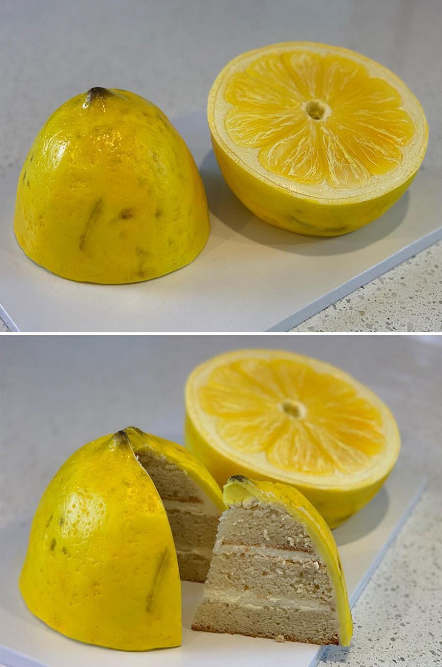 Dolci e dessert che sembrano oggetti reali Luke Vincentini