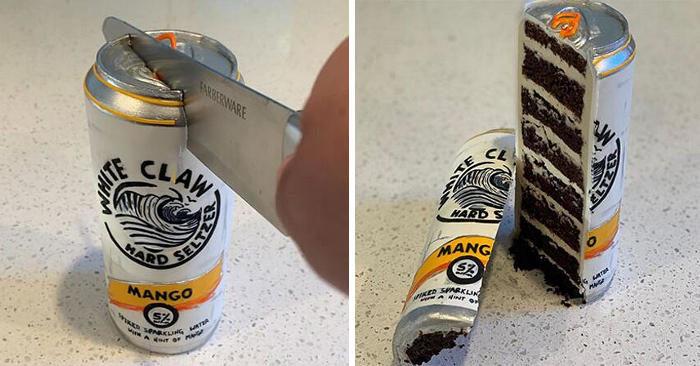 Artista crea torte incredibilmente realistiche ispirate ad oggetti di uso quotidiano