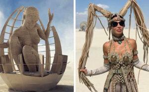 80 foto dal festival più stravagante del mondo, il Burning Man 2019