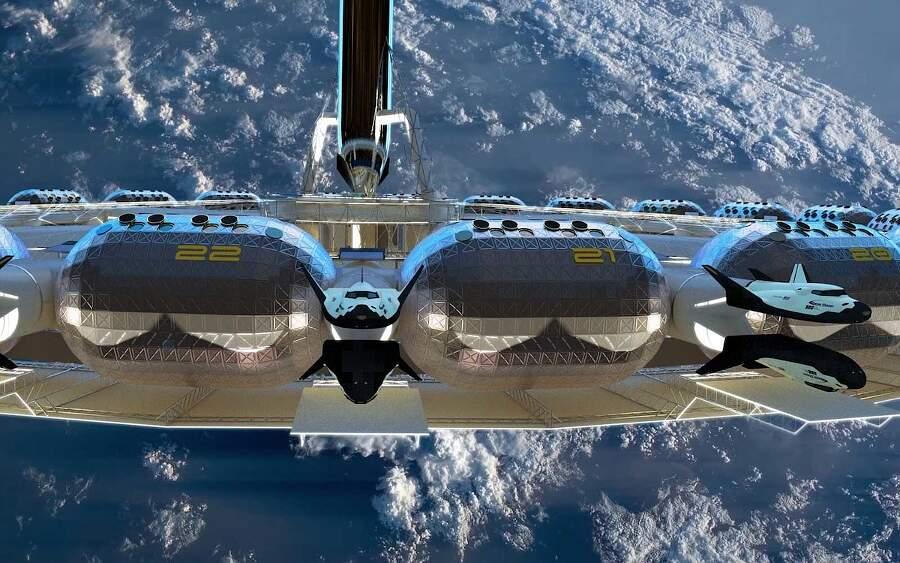 Von Braun Space Station sarà il primo hotel nello spazio, aprirà nel 2025 e avrà gravità artificiale