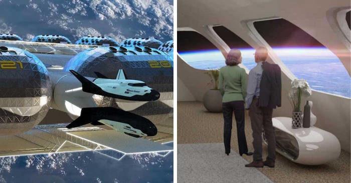 Il primo hotel nello spazio aprirà nel 2025 e avrà gravità artificiale