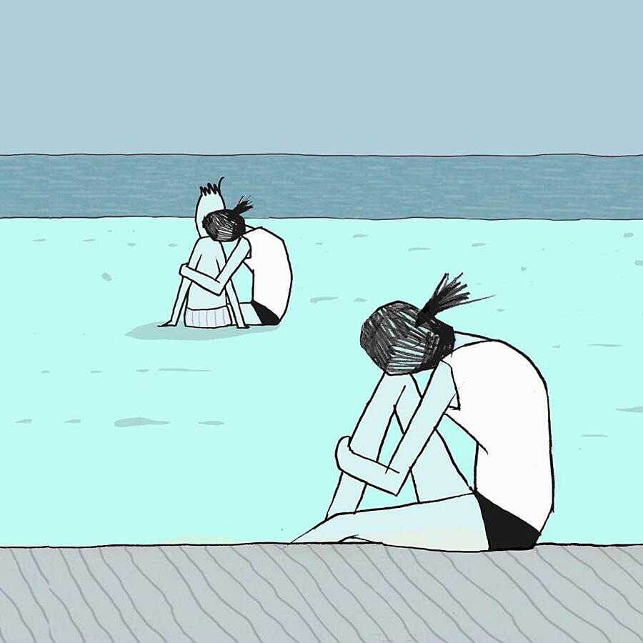 Illustrazioni sulla società contemporanea Yuval Robichek
