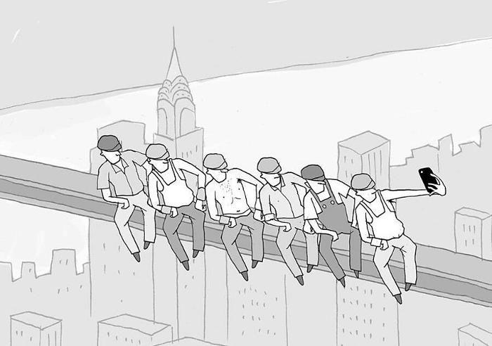 129 illustrazioni stimolanti dell'artista israeliano Yuval Robichek
