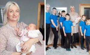 Questa mamma dà finalmente alla luce una femmina dopo 10 maschi consecutivi