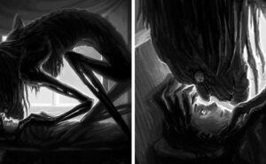 Paralisi del sonno: 46 persone disegnano i demoni delle loro allucinazioni