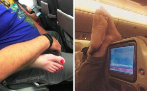23 foto di un assistente di volo alle prese con passeggeri senza vergogna