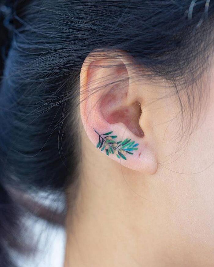 Tatuaggi orecchio