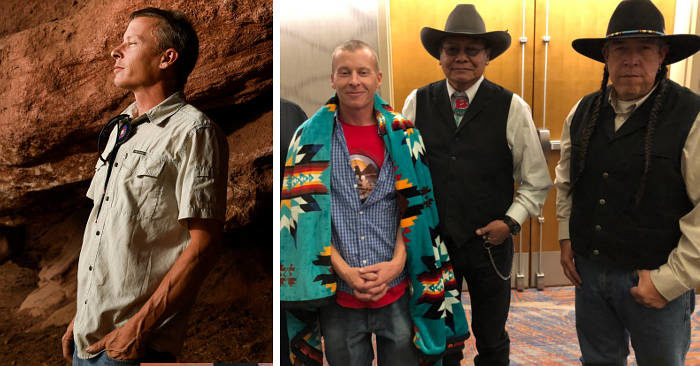 Idraulico compra una terra in Colorado, scopre manufatti dei pellerossa Ute e regala terra e immobile alla tribù