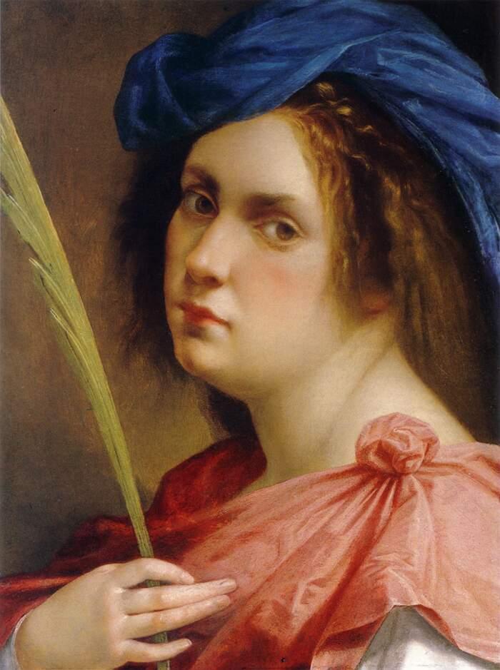 Artemisia Gentileschi - Autoritratto come martire