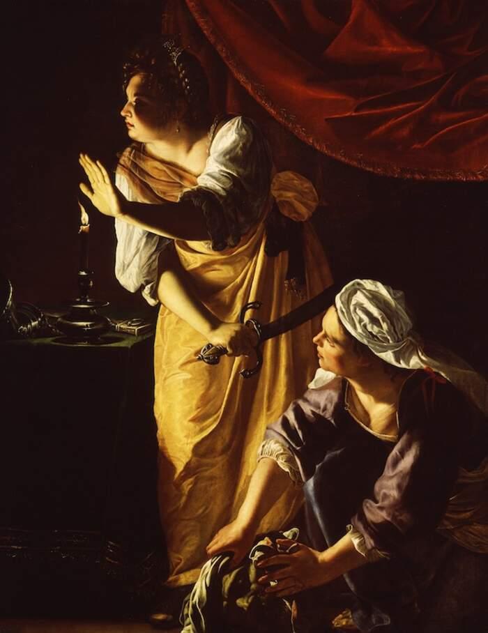 Artemisia Gentileschi - Giuditta con la sua Ancella