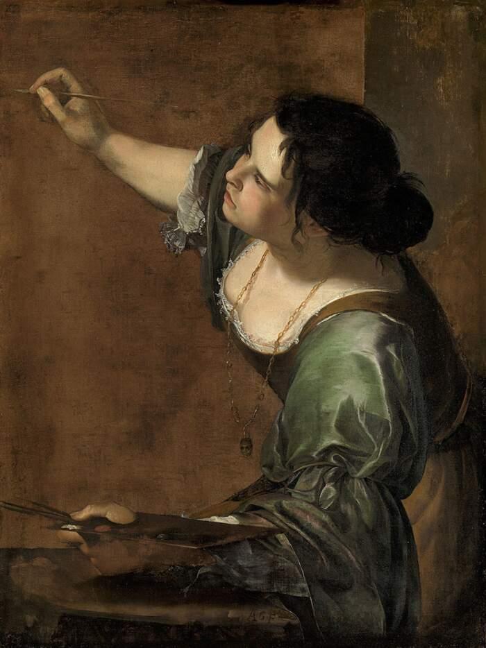 Artemisia Gentileschi - Autoritratto come Allegoria della Pittura