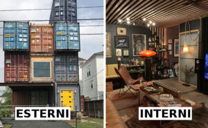 Usa 11 container per costruire la sua casa dei sogni e gli interni sono incredibili
