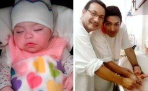 Coppia gay adotta bambina con HIV che era stato rifiutato da 10 famiglie
