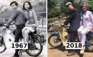 22 coppie dimostrano che il tempo passa ma il vero amore no