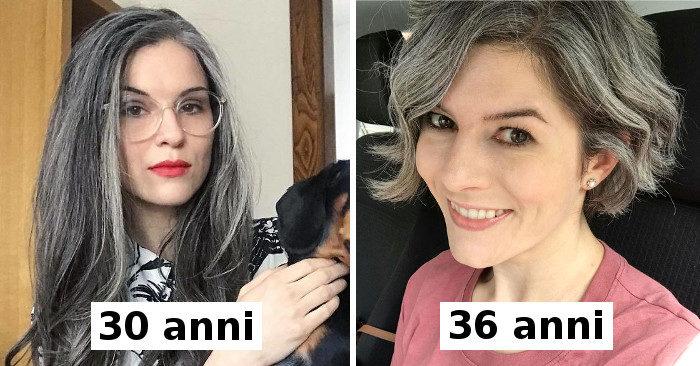 Donne che non tingono più i capelli e sono così belle che potrebbero convincerti a fare lo stesso (nuove foto)