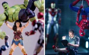 Action figure diventano protagonisti di strepitose scene d'azione