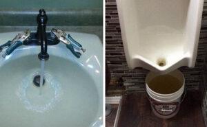Ex idraulico condivide le cose più folli che ha visto sul lavoro